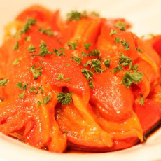 Roasted Red Bell Peppers With Sherry Vinegar