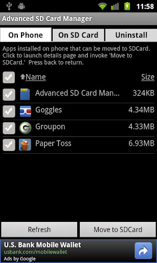 Advanced SD Card Manager