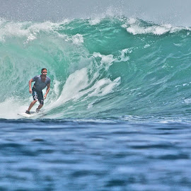 made it out by Magdalena Wysoczanska - Sports & Fitness Surfing