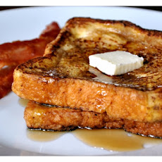 Overnight Eggnog French Toast