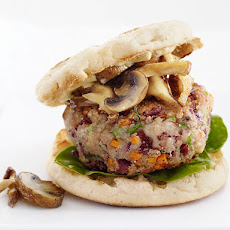 Veggie Burgers with Mushrooms