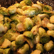 Maple Dijon Brussels Sprouts