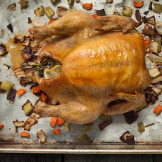 Basic Whole Roasted Chicken Recipe