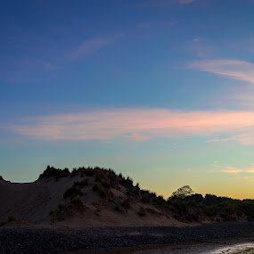 roadhead beach by Gareth Fleming - Landscapes Beaches ( water, sunset, beach, lakedistrict )