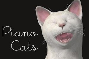 Screenshot of Piano Cats