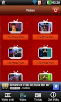 Screenshot of The Voice Việt Nam 2012