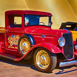 Old Red Truck! by Fred Herring - News & Events Entertainment