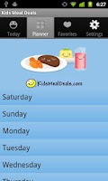 Screenshot of Kids Meal Deals