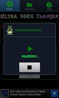 Screenshot of Ultra Voice Changer