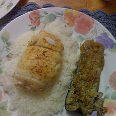 My Big Stuffed Fish With Rice