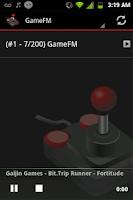 Screenshot of Video Game Music Radio