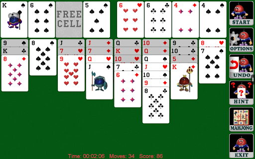 Cell Solitaire (Full) - screenshot