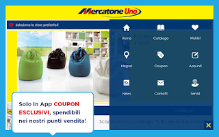 Screenshot of Mercatone Uno