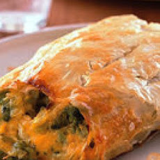 Broccoli and Cheddar Strudel