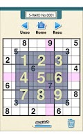 Screenshot of Finger SUDOKU