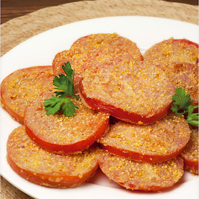 Fried Ripe Tomatoes