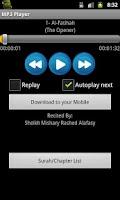 Screenshot of Quran MP3 With Hindi
