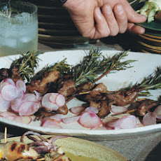Chicken Liver Skewers