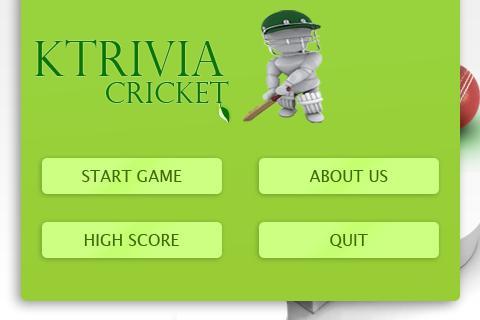 K-trivia Cricket