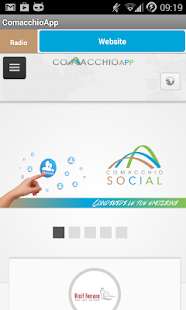 ComacchioApp - screenshot