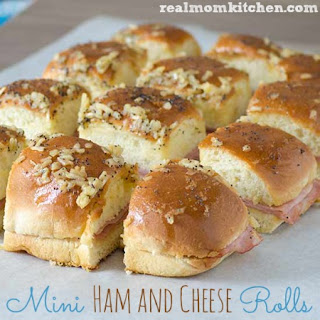 Mini Ham and Cheese Rolls