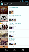 Screenshot of Bandsintown Concerts