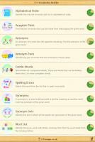 Screenshot of 11+ Vocabulary Builder Lite