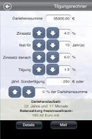 Screenshot of flexfinanz