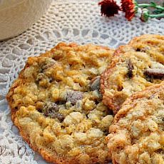 Oatmeal Orange Milk Chocolate Chip Cookies