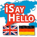 iSayHello English - German icon