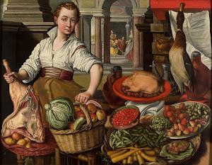 RIJKS: copy after Joachim Bueckelaer: painting 1569