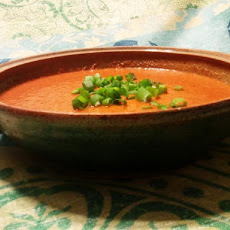Chilled Tomato & Red Pepper Soup