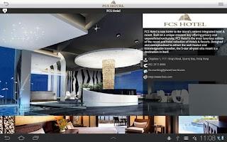 Screenshot of FCS Hotel i-Guest HD