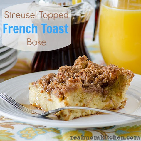 Streusel Topped French Toast Bake