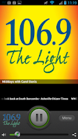 Screenshot of 106.9 The Light