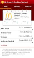 Screenshot of Yemeksepeti