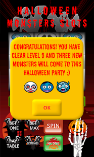 Halloween Monsters Slots PRO - screenshot