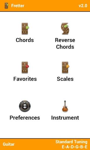 Fretter Lite - Chords