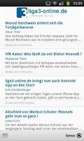 Screenshot of Liga3-online.de