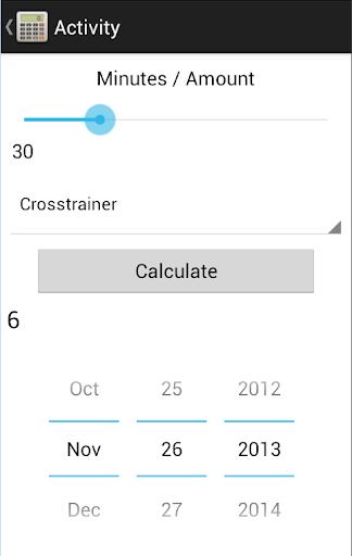 Point Tracker Weight Watchers - screenshot