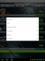 Screenshot of Sirens Horns & Alarm Ringtones