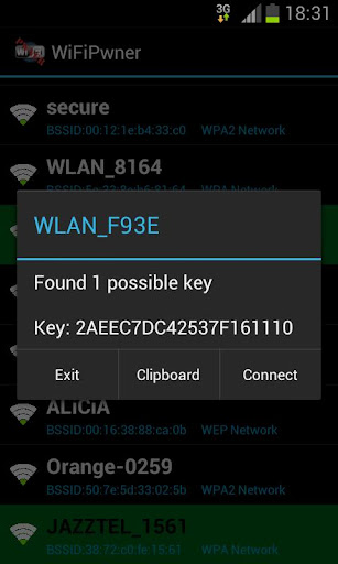 wifipwner for android screenshot
