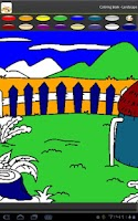 Screenshot of Coloring book - Landscape