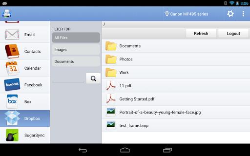 PrintHand Mobile Print - screenshot