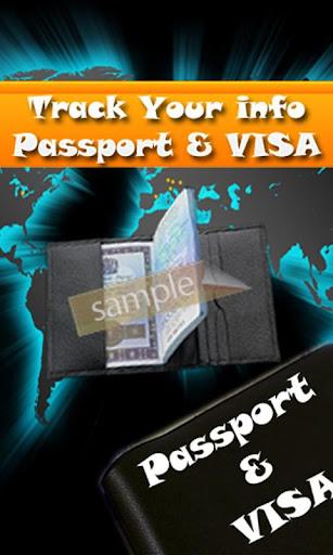 Track ur Info Passport Visa