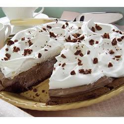 Mile-High Fudge Brownie Pie