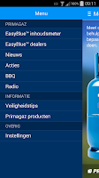 Screenshot of Primagaz EasyBlue™