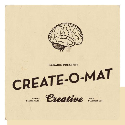 Create-O-Mat LOGO-APP點子