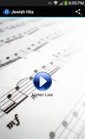 Screenshot of Jewish Hits - Music Stream