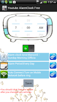 Screenshot of MidiTube alarm clock free